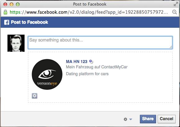 Facebook Share Link
